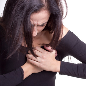 признаки инфаркта у женщин