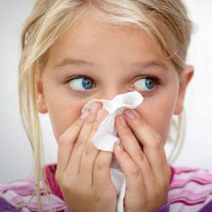 Кровотечение из носа у детей
